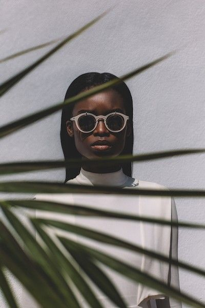 SPOTTED: Absolute composure in an arresting composition. @iammariaborges wearing MYKITA / Damir Doma BRADFIELD in German magazine Stern. https://mykita.com/damir-doma/sun-bradfield/bradfield-silver-cinerousgrey-brown-flash-cat3