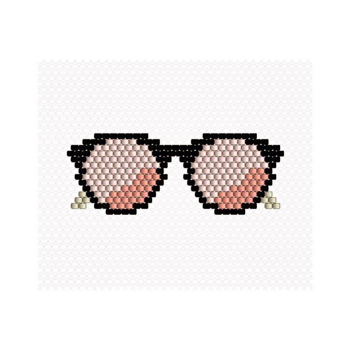 Voic le diagramme des lunettes de soleil  Vu la journée ensoleillée que l'on vient de passer vous allez tous vouloir les tisser ☀️☀️☀️ #miyuki #miyukidelica #miyukibeads #perlesmiyuki #diy #handmade #brickstitch #sunglasses #lunettesdesoleil #glasses #sun #spring  #jenfiledesperlesetjassume #jenfiledesperlesetjaimeca #motifcharlottesouchet Charlotte Souchet ©