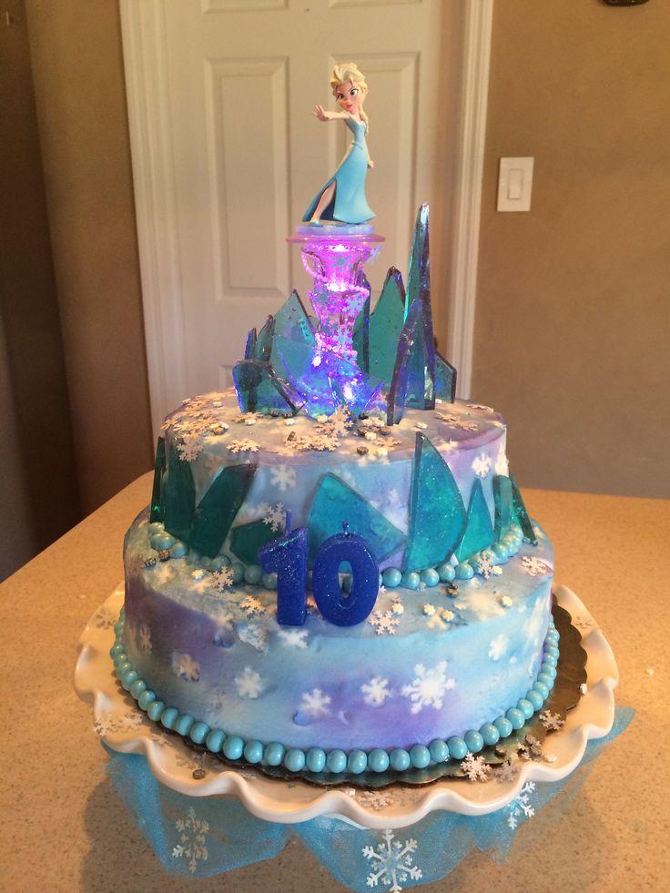 Frozen Birthday Cake Julielynchphotography