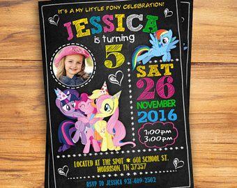 Mi invitación de Pony poco mi Little Pony cumpleaños invitación, mi cumpleaños de pequeño Pony, mi pequeña fiesta de Pony, mi pequeño Pony invitan a, DIGITAL