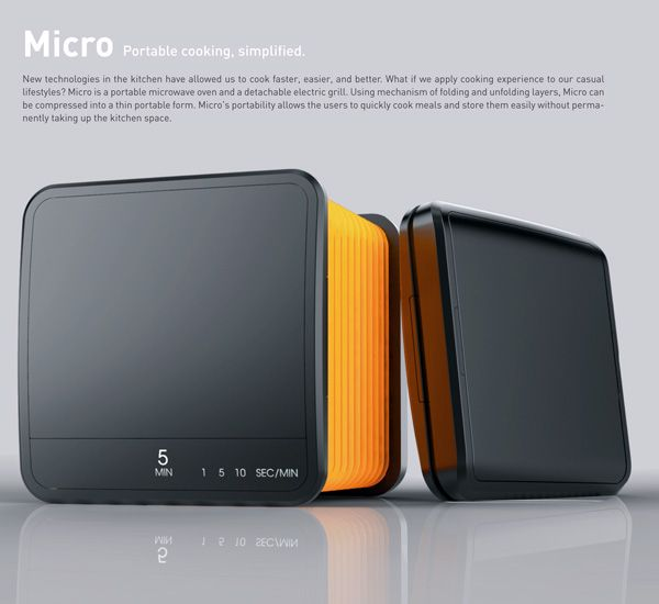 Micro Portable Microwave And Grill By Richard Park Is A That