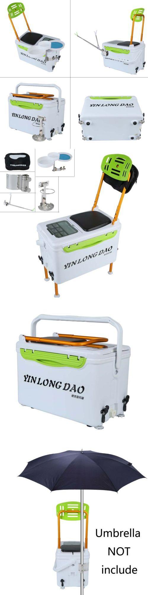 Chairs and Seats 19985: Hot New Fishing Tackle Box Lightweight Insulated Storage Case Useful Angler Seat -> BUY IT NOW ONLY: $100.41 on eBay!