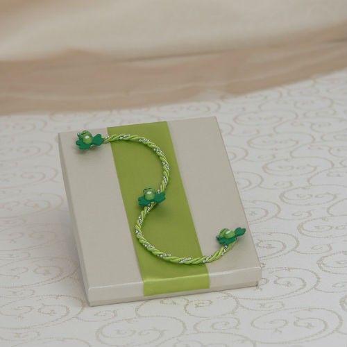 Nikos Collection Cutie cruciulite Green Frog