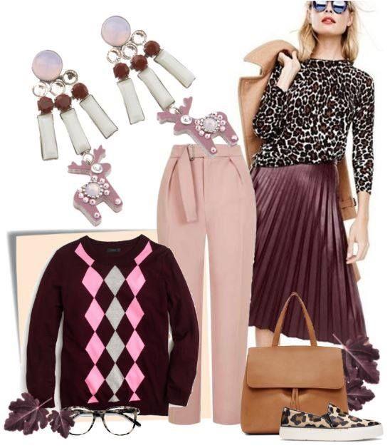 Jelení šperky - Inspirujte se podzimním outfitem s náušnicemi Senzace a Skvosta