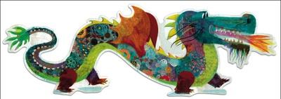 Prachtige draken puzzel van het merk Djeco.