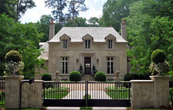 inspiration for exterior colors ... french provincial design / stan dixon