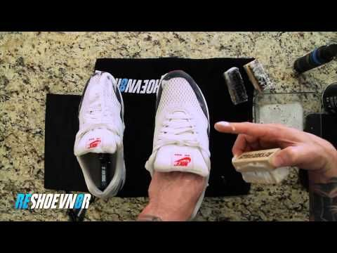 How to clean Air Max dirty mesh with Reshoevn8r - YouTube  9ee853739