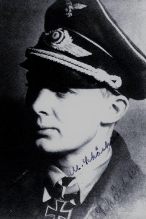 "Leutnant Martin Schächter (1915-2007), Führer Sturmgruppe ""Eisen"" in der Fallschirmjäger Sturmabteilung ""Koch"", Ritterkreuz 12.05.1940"
