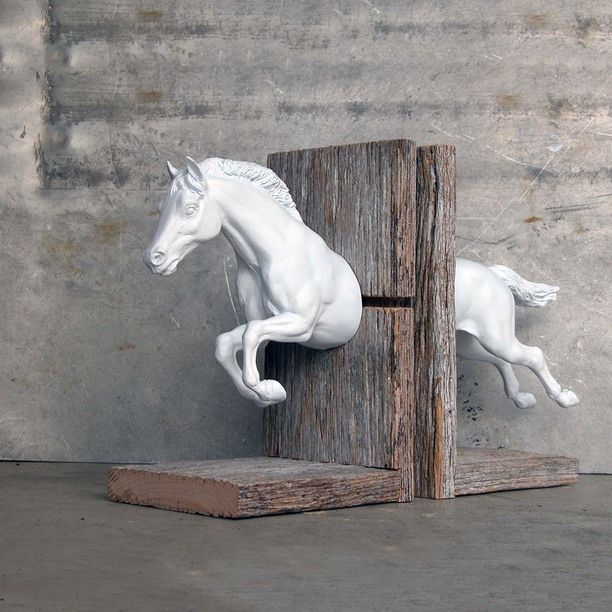 Over Fences Bookend White design inspiration on Fab.