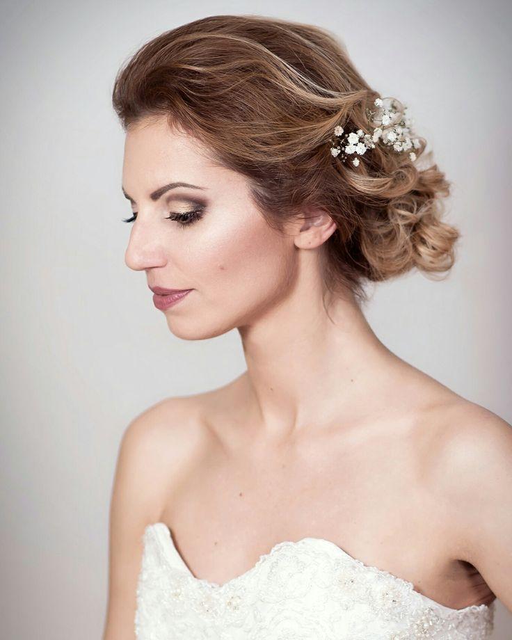 Wedding makeup & hairstyle