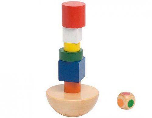 Πύργος ισορροπίας/ Balancing tower in cotton bag