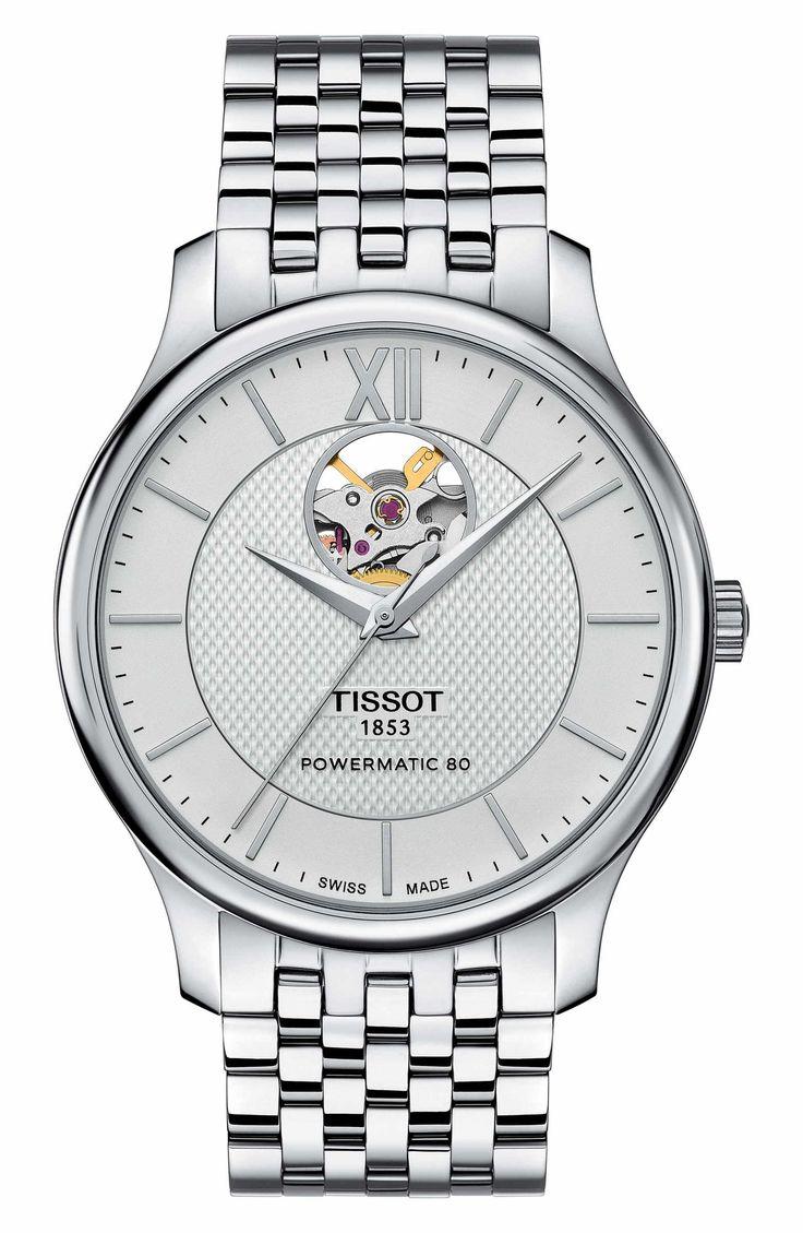 Tissot Tradition Bracelet Men #Watch On Sale #ad