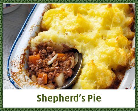 Shepherd's Pie Hackfleisch mit Kartoffelpüree und Käse überbacken