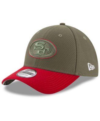 New Era San Francisco 49ers Salute To Service 39THIRTY Cap - Brown L/XL