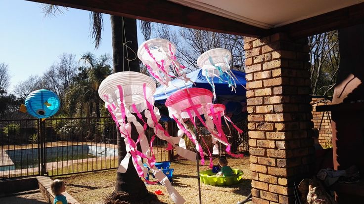My version of the paper lantern jellyfish