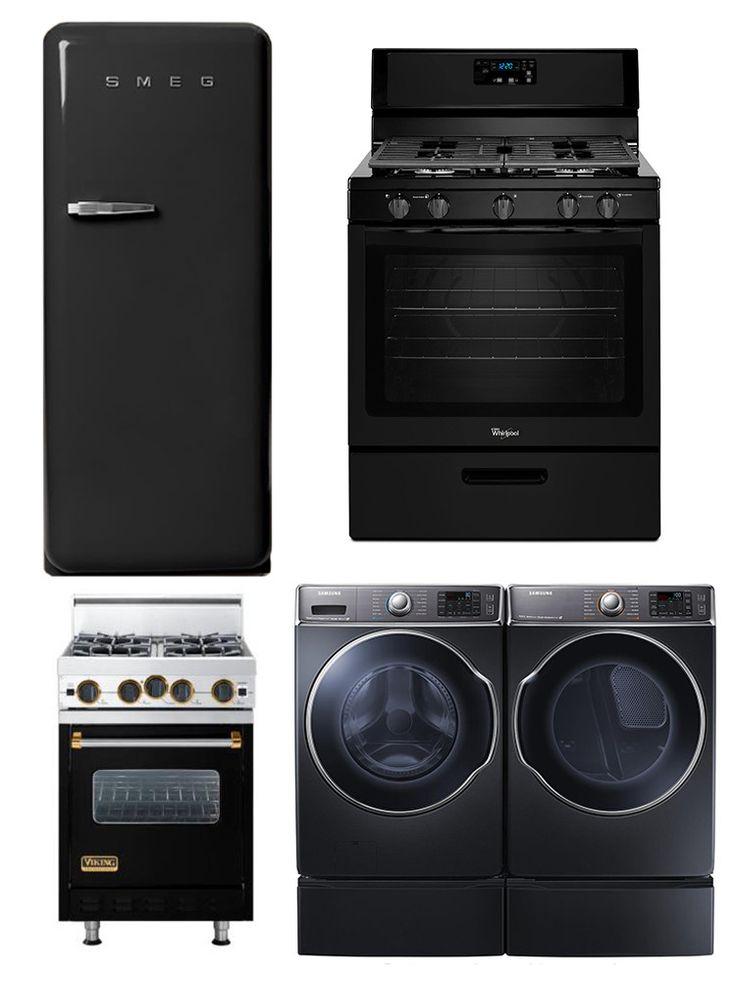 White Kitchen Black Appliances best 25+ black stainless steel ideas on pinterest | stainless