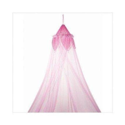 3C4G Fantasy Bed Canopy, Light Pink