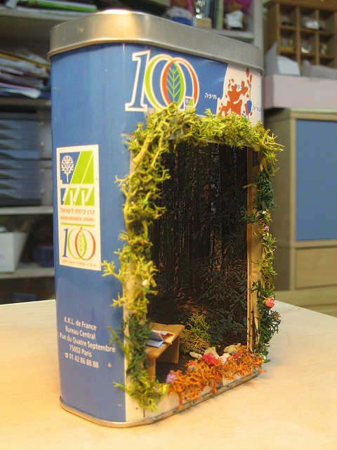Kitchen Diorama Made Of Cereal Box: 29 Best Images About Diorama Recycled For Kids. On