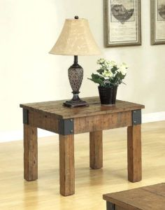 Rustic Side Table Lamps