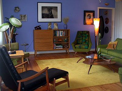 19 best images about 60s living rooms on pinterest for Living room 60 s