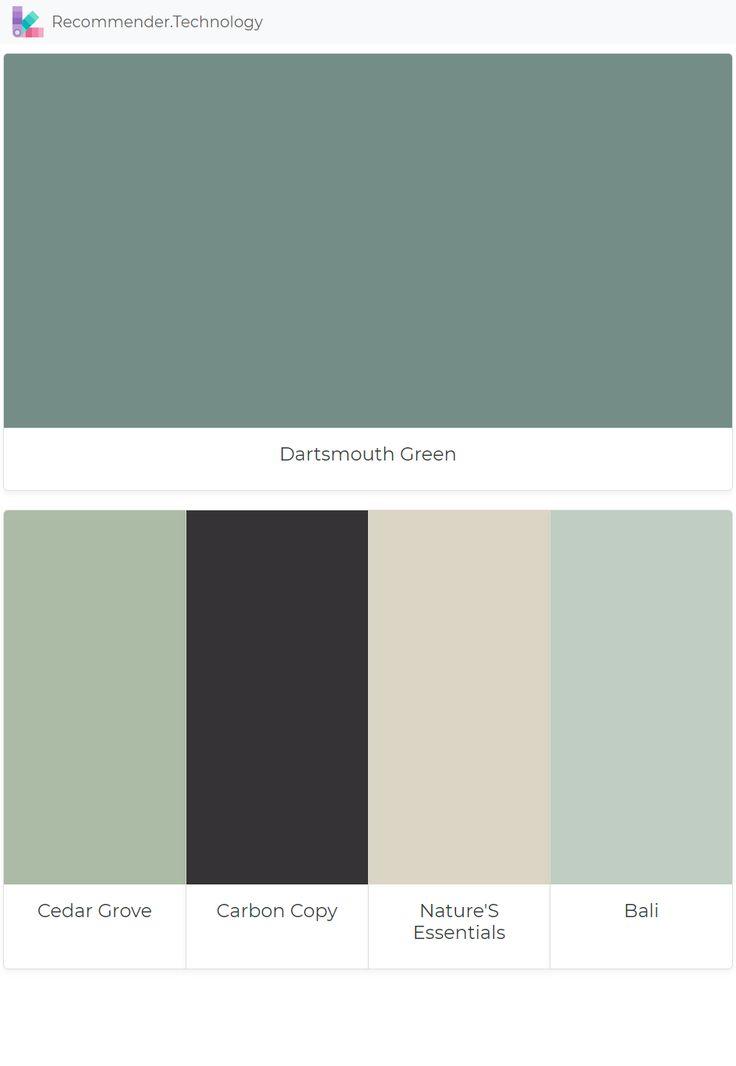 Dartsmouth Green Cedar Grove Carbon Copy Nature S
