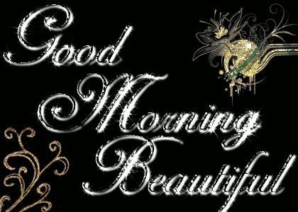 Good Morning Beautiful Image