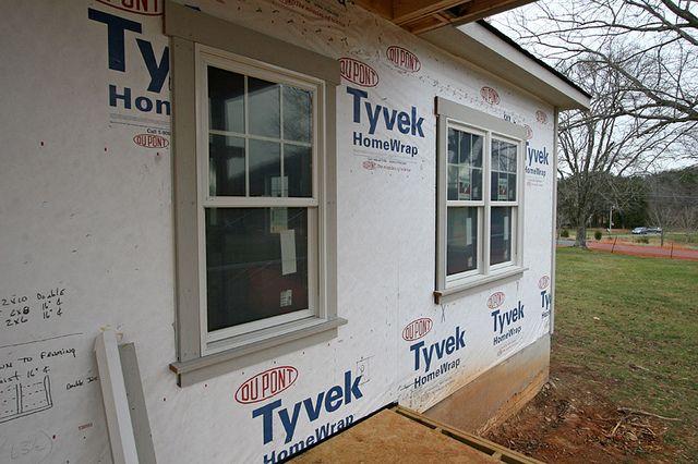 window trim (exterior & interior?)