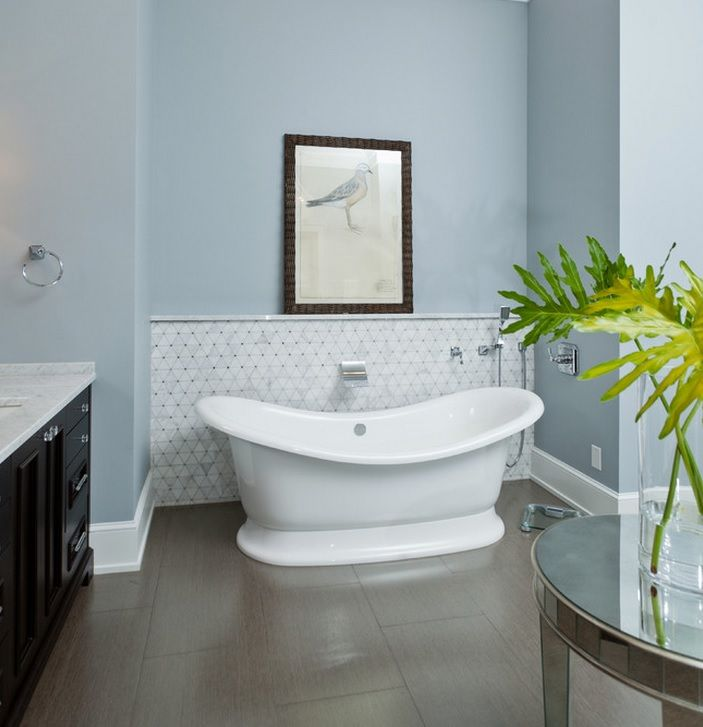 gulf breeze waterfront transitional bathroom miami russell home builders - Bathroom Accessories Miami