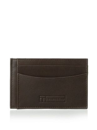 55% OFF Trafalgar Men's Glove Card Case (Brown)
