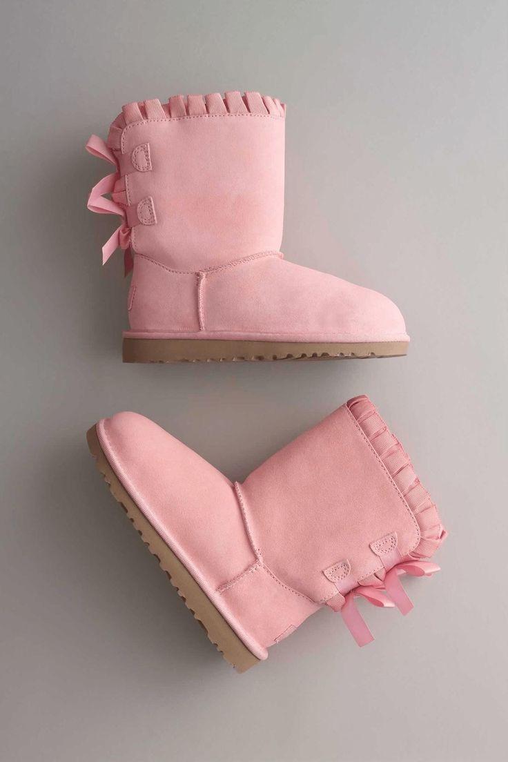 Kids Bailey Ruffles Bow UGG® Boots: #Chasingfireflies $97.97 - $111.97