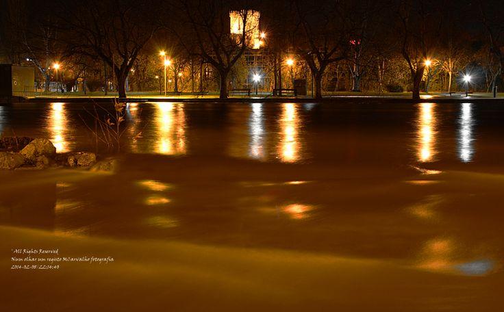 Chaves e o rio Tamega a sair do seu leito.