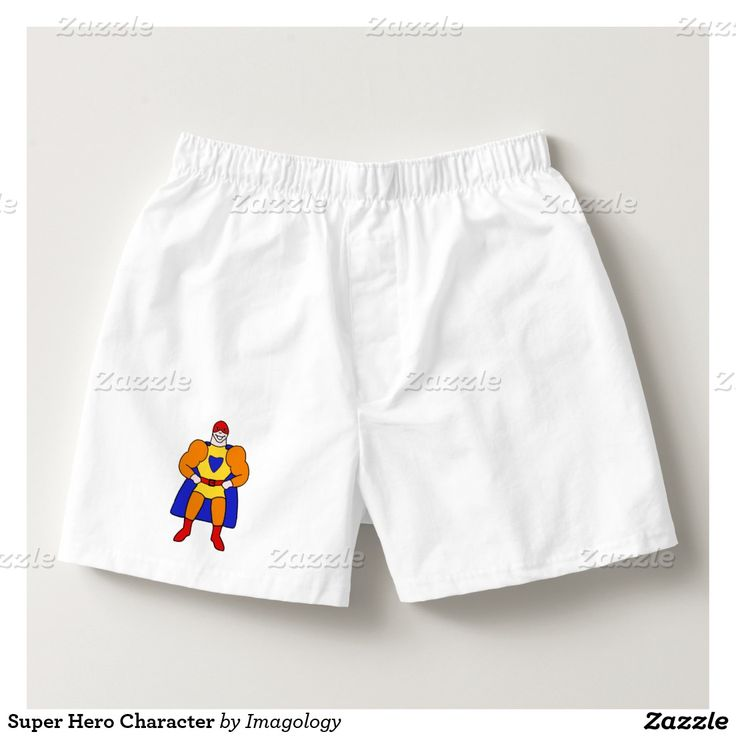 Super Hero Character Boxers