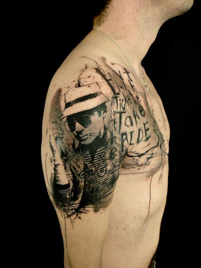 254 best black and grey tattoos images on pinterest lettering tattoo toms and back tattoos. Black Bedroom Furniture Sets. Home Design Ideas