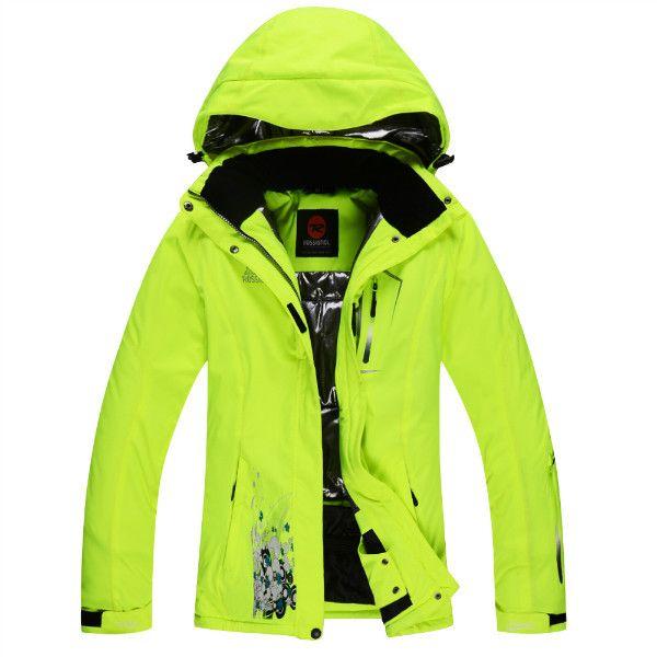 Winter ski jacket women breathable warm snowboarding jackets