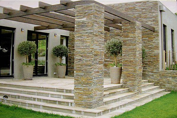 Culture Stone Pillars