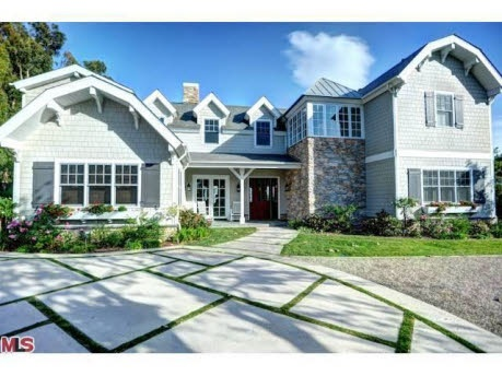 Cape Cod ~Howie Mandel's Malibu house for sale
