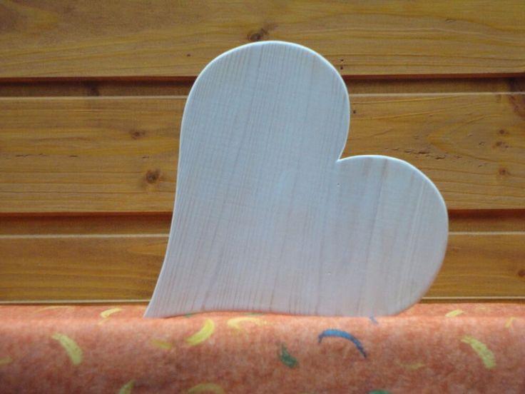 Herz Holz Handwerk massiv Vintage Shabby 17 cm Liebe  Valentinstag Muttertag°