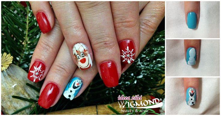 #Wigmondteinspira - #Frozen a devenit reper in ce priveste #iarna si sezonul de gheata, iar #Olaf este unul dintre cele mai indragite personaje ale filmului. Trainerul #Wigmond - #CrystalNails Romania, Inna, a realizat pentru #ideeazilei un decor in ton cu anotimpul si tematica filmului. ⛄⛄  Inna a folosit #CoolGel - http://bit.ly/wig_XtremeCoolGel, #ColorGel - http://bit.ly/wig_ColorGel-032, #OneStep #CrystaLac - http://bit.ly/wig_OneStepCrystaLac-71, vopsea #Aquarell…