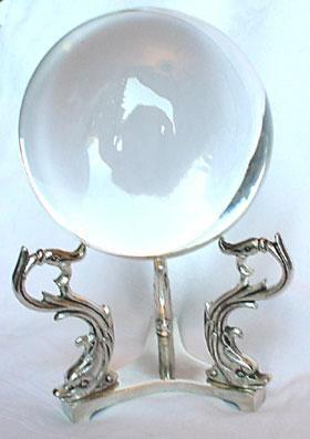 sfere di cristallo con il piedistallo - Cerca con Google