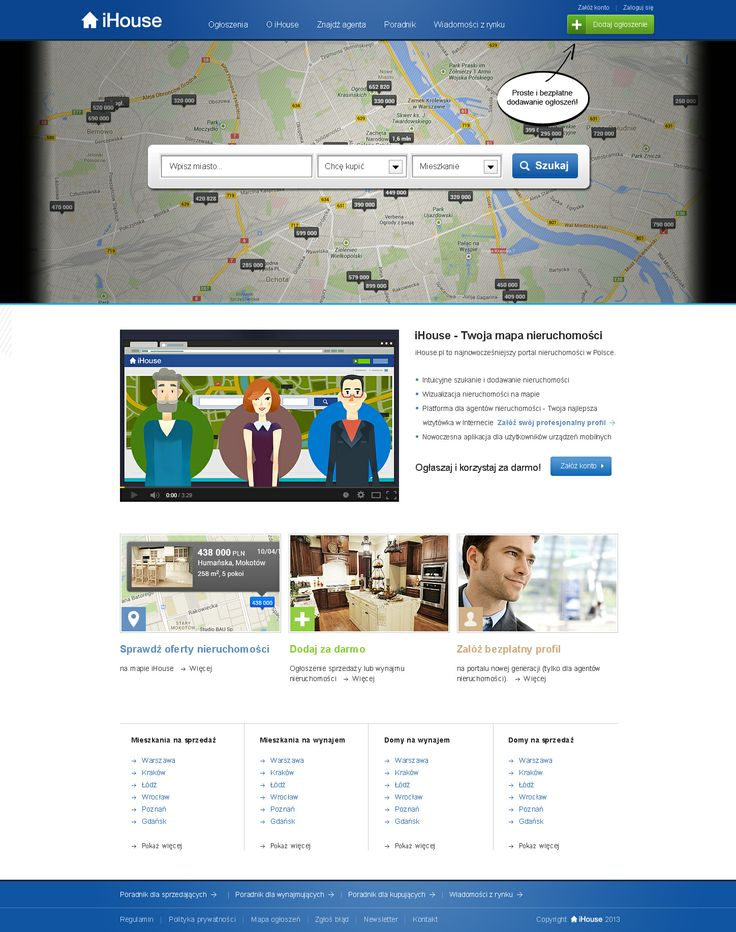Web Design for ihouse.pl