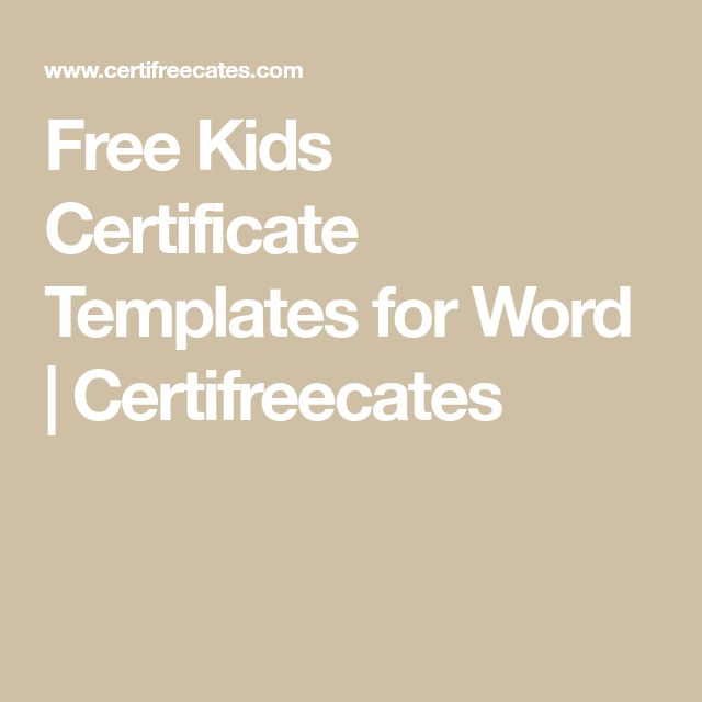 Best 25+ Certificate templates for word ideas on Pinterest - coupon template word