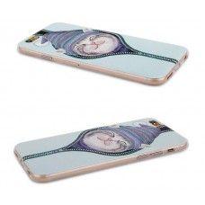 iPhone 6 6s 4.7 - Cute Sleeping Cat Matte TPU Soft Protective Phone Cover Case