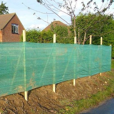 Green debris scaffold windbreak shade garden allotment for Garden windbreak designs