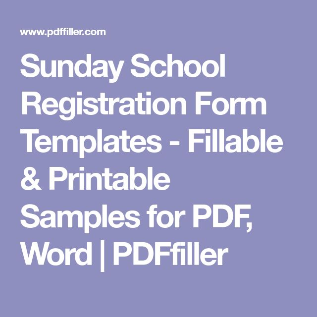 The 25+ best Registration form sample ideas on Pinterest Diapers - form templates for word