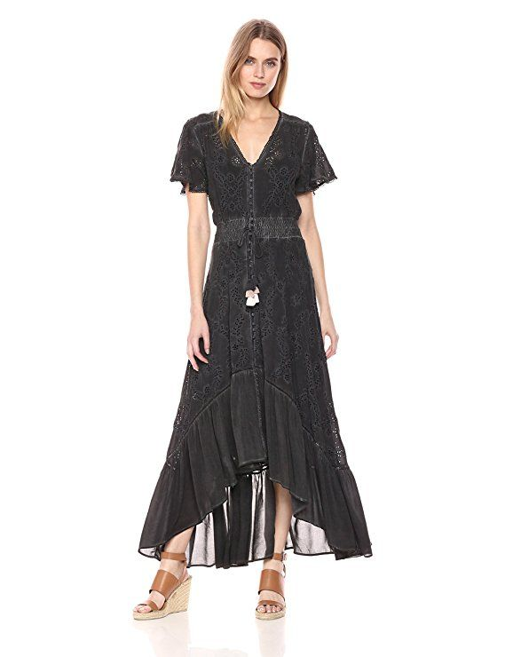 f50be4150a78c Amazon.com: Young Fabulous & Broke Women's Costa Maxi: Clothing ...