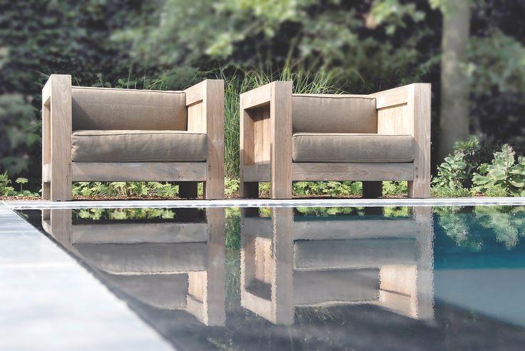 Stühle inkl. Outdoorkissen