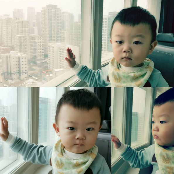 Daebak Sees Snow for the First Time and Is Amazed