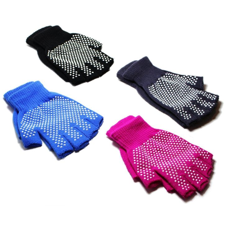 Stargoods Yoga Gloves - Pack of 4 Non slip pairs for Training & Workouts. BEST PACK: Get 4 pairs with Non slip rubber dot design on Black, Grey, Pink and Blue colors. COMFORT: Made on high quality breathable cotton for great perspiration giving you total freshness while exercising your daily yoga routines. SAFETY: Non slip Rubber grip dot design enhances your balance and stability while protecting your hands. VERSATILITY: Perfect size for easy carrying with you on any travel. Machine wash...