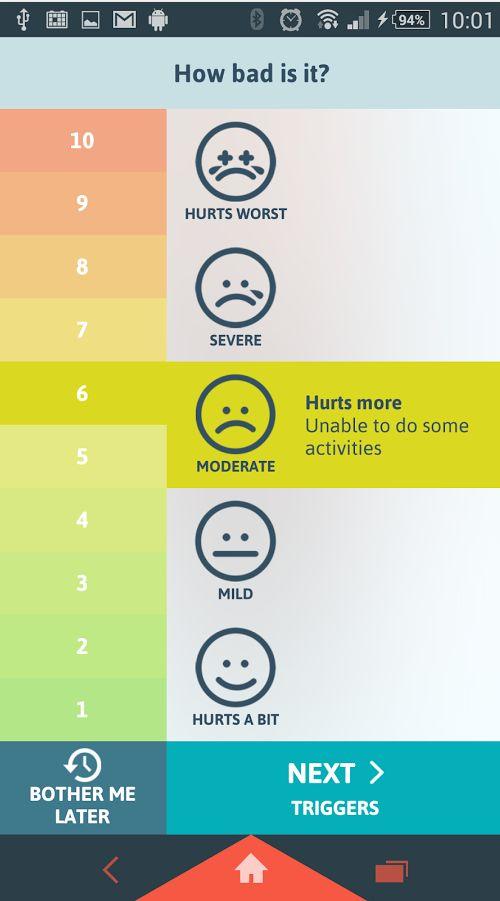 Migraine Buddy Android app