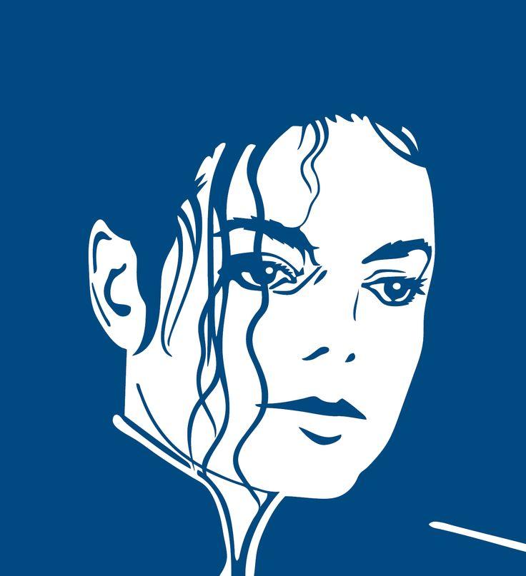 Sticker Michael Jackson   Dimensions 24 cm x 22 cm Tarif 8.00 € frais de port gratuit